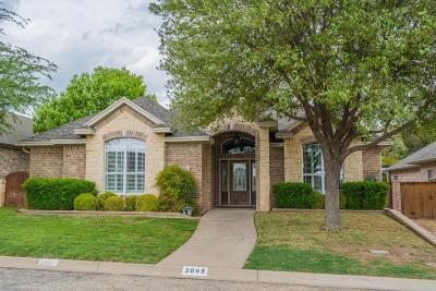 San Angelo Single Family Home For Sale: 3049 Champions Circle