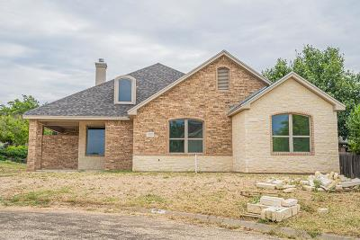 San Angelo Single Family Home For Sale: 3045 Champions Circle