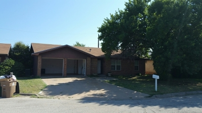 San Angelo, Wall, Christoval Rental For Rent: 6 Terrace Dr