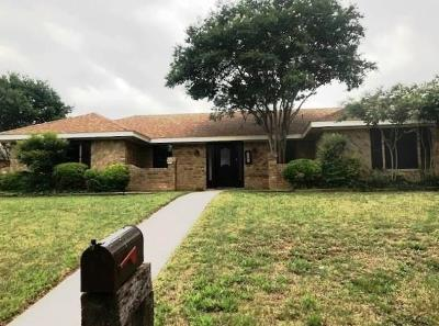 San Angelo Single Family Home For Sale: 3805 Threeawn Tr