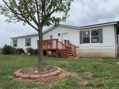 San Angelo Manufactured Home For Sale: 12710 Glass Rd