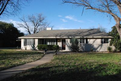 San Angelo Single Family Home For Sale: 2652 A&m Ave