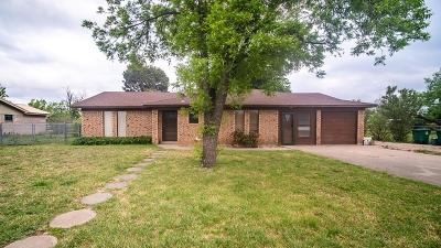 San Angelo Single Family Home For Sale: 401 Mimosa Dr