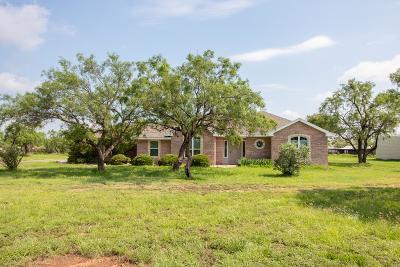 San Angelo Single Family Home For Sale: 470 Buffalo Lane