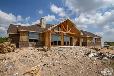 Christoval Single Family Home For Sale: 17250 Caballo Blanco Lane