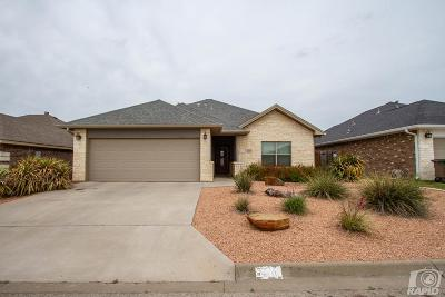 San Angelo Single Family Home For Sale: 6117 Lydian Court