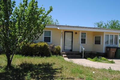 San Angelo TX Single Family Home For Sale: $99,960