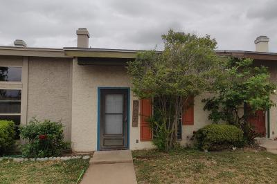 San Angelo Condo/Townhouse For Sale: 2606a Sunset Dr