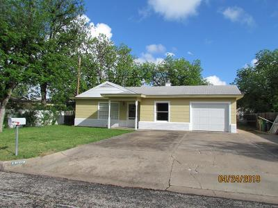 San Angelo TX Single Family Home For Sale: $119,000