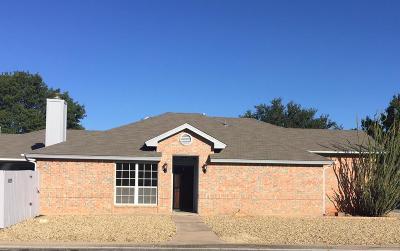 San Angelo Condo/Townhouse For Sale: 4529 Sugar Maple Lane