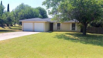 San Angelo TX Single Family Home For Sale: $115,000