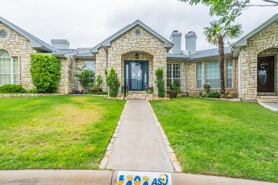 San Angelo Condo/Townhouse For Sale: 5202 Fairway Dr