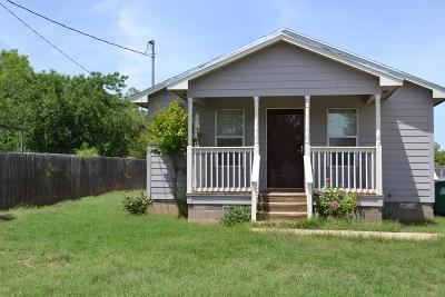 San Angelo Single Family Home For Sale: 822 W Ave Y