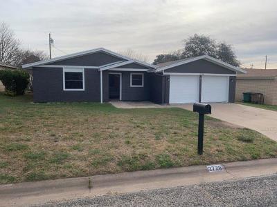 San Angelo Single Family Home For Sale: 2728 Eunice Dr