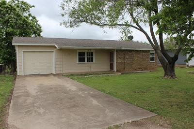 Ballinger Single Family Home For Sale: 405 Ave A