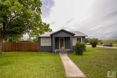 San Angelo Single Family Home For Sale: 425 N Garfield St
