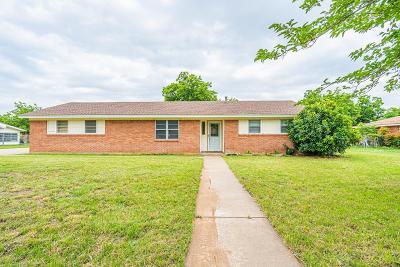 San Angelo Single Family Home For Sale: 5320 Atlantic Rd