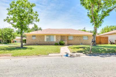San Angelo Single Family Home For Sale: 1937 Glenwood Dr