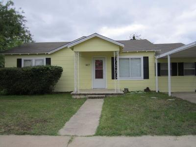 San Angelo Single Family Home For Sale: 1417 Hassell St