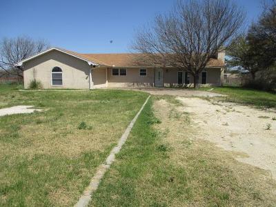 San Angelo Single Family Home For Sale: 9510 Burkett Lane