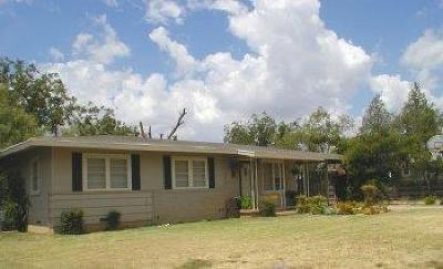 San Angelo, Wall, Christoval Rental For Rent: 2551 Culver Ave