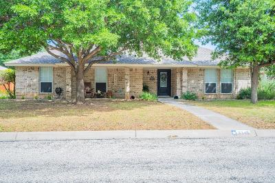 San Angelo Single Family Home For Sale: 3345 Maplewood Dr