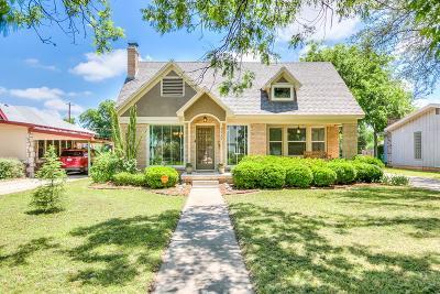 San Angelo Single Family Home For Sale: 1112 Austin St