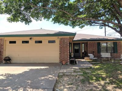San Angelo Single Family Home For Sale: 2029 Glenwood Dr