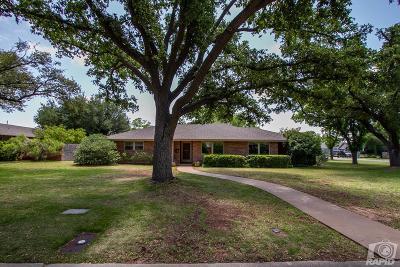 San Angelo Single Family Home For Sale: 2515 Douglas Dr