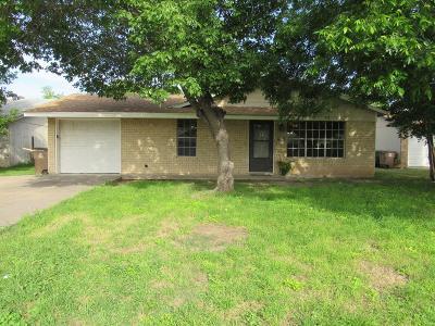 San Angelo Single Family Home For Sale: 1206 Todd Lane