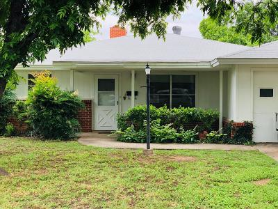 San Angelo Single Family Home For Sale: 2019 Guadalupe St