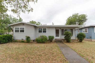 San Angelo Single Family Home For Sale: 1001 N Jackson St