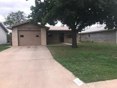 San Angelo Single Family Home For Sale: 510 Mimosa Dr
