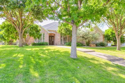 San Angelo Single Family Home For Sale: 4841 N Bentwood Dr