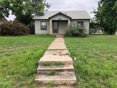 San Angelo Single Family Home For Sale: 532 E Highland Blvd