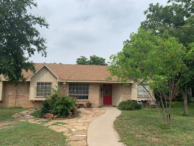 San Angelo Single Family Home For Sale: 2732 Chimney Rock Lane