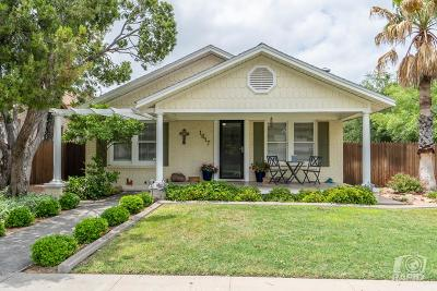 San Angelo Single Family Home For Sale: 1617 S Harrison St