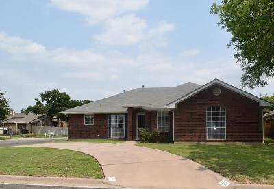San Angelo TX Single Family Home For Sale: $170,000