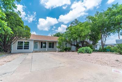 San Angelo TX Single Family Home For Sale: $110,000