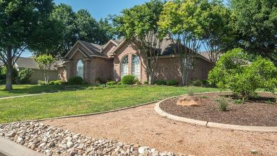 San Angelo Single Family Home For Sale: 3002 Grandview Dr