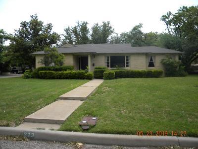 San Angelo TX Single Family Home For Sale: $289,900