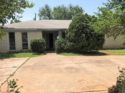 San Angelo Single Family Home For Sale: 4131 Nottingham Tr