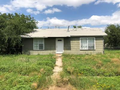 San Angelo Single Family Home For Sale: 1206 Parker St