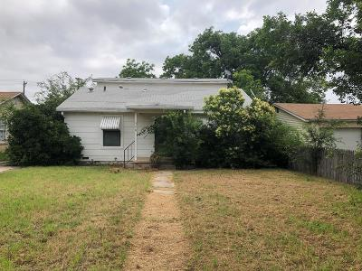 San Angelo Single Family Home For Sale: 306 S Garrett St