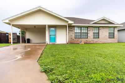 San Angelo Single Family Home For Sale: 1108 Guthrie St