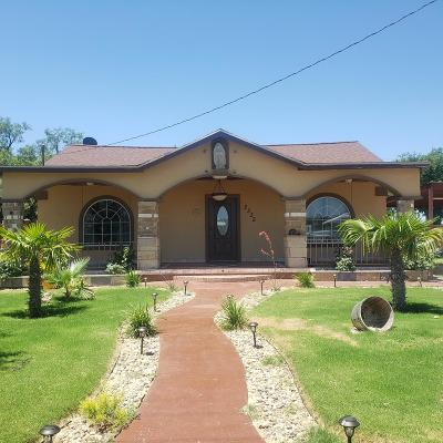 San Angelo Single Family Home For Sale: 2335 Lillie St