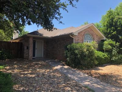 San Angelo Single Family Home For Sale: 4549 Shingle Oak Lane
