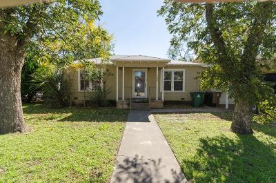 San Angelo TX Single Family Home For Sale: $111,900