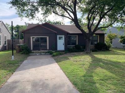 San Angelo Single Family Home For Sale: 212 S Monroe St