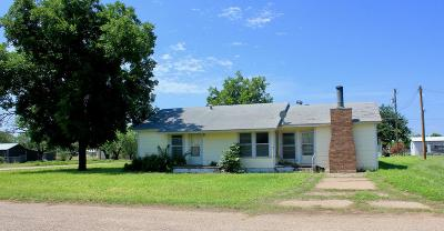 Robert Lee Single Family Home For Sale: 401 W 18th St